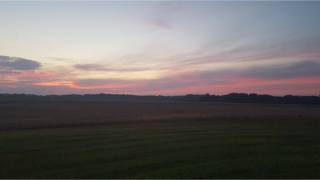 Sunset at Better Days Farm
